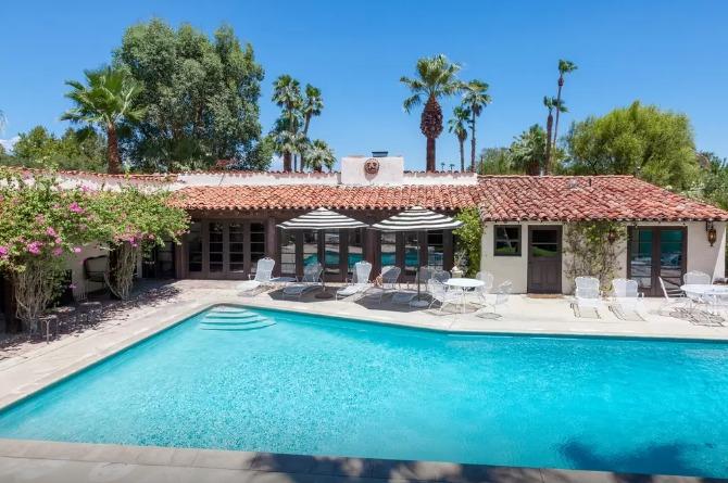 Bing Crosby's Palm Springs home