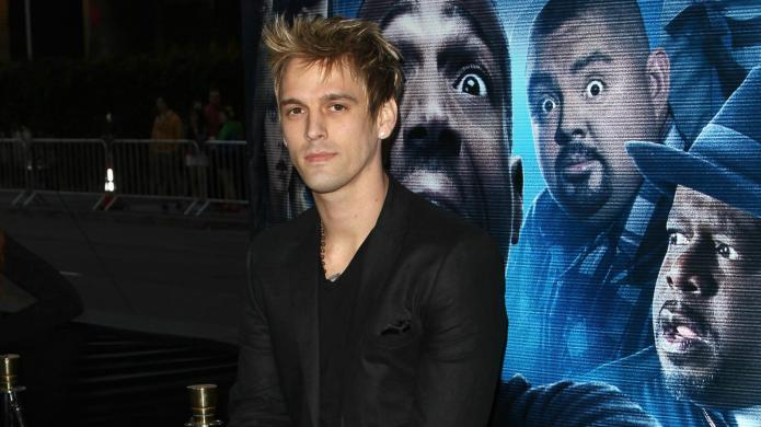 Aaron Carter finally gives up on