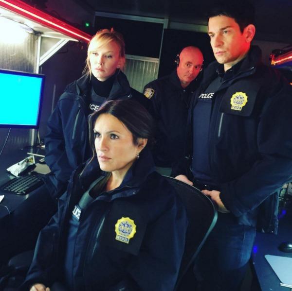 Law & Order: SVU cast filming