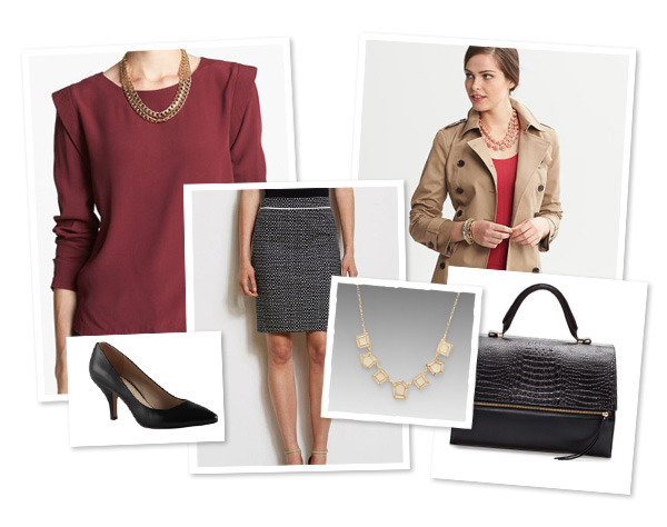 Fabulous and professional fall fashion collage