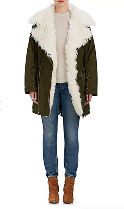 Perfect to Wear Shearling This Season | Ulla Johnson coat