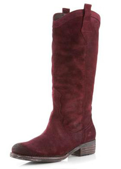 Sam Edelman classic western boots in suede