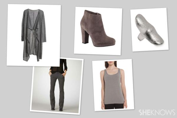 Shades of grey look |SheKnows.com