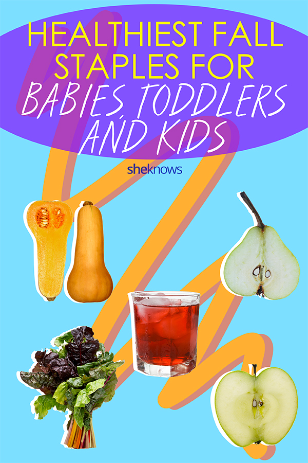 Healthiest fall staples for babies, toddlers and beyond