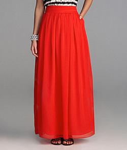 Seen here: Gianni Bini maxi skirt