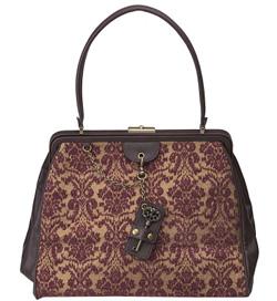 Seen here: Nine West satchel