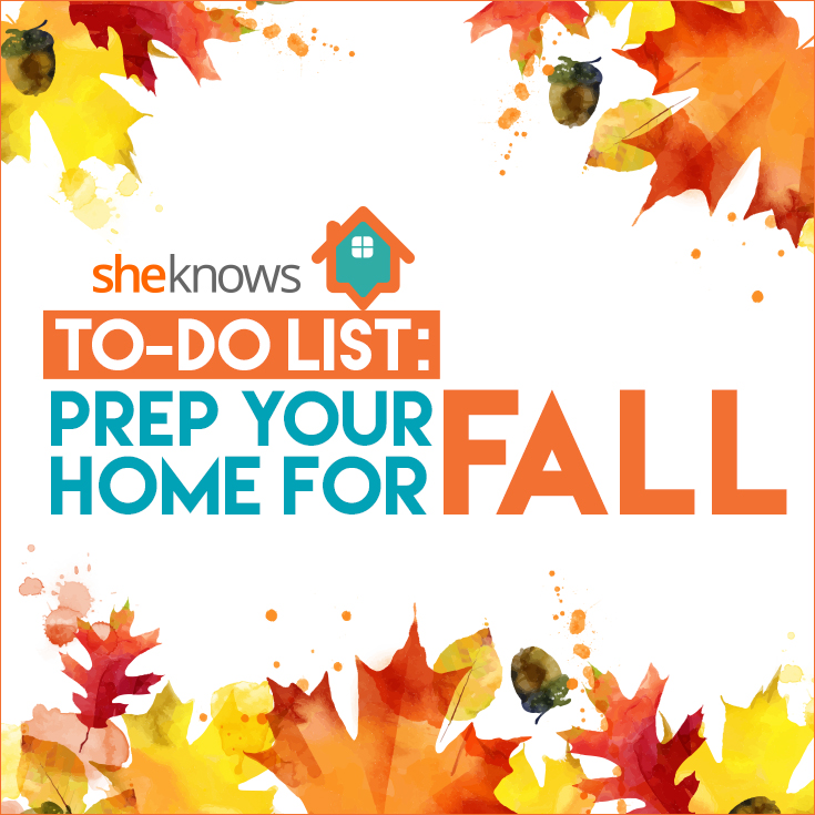 fall home checklist pin