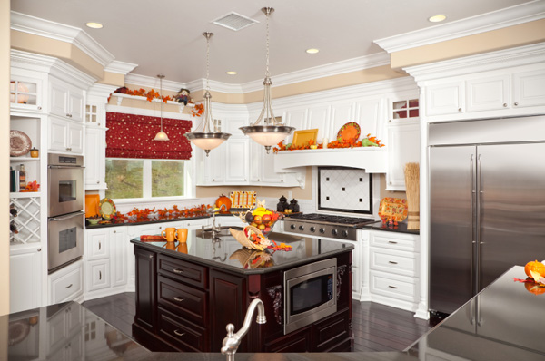 Fall-themed kitchen
