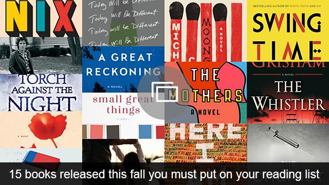 Fall 2016 books slideshow
