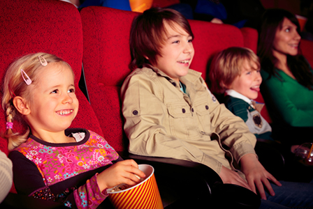 Family at the theater | Sheknows.com
