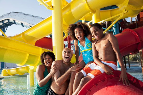 waterpark as family