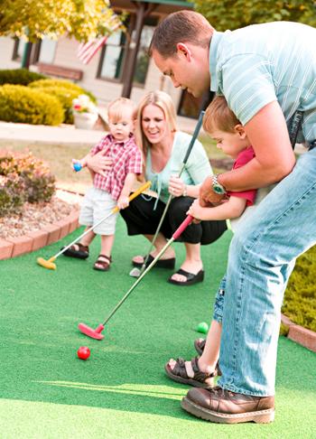 Mini Golf with Dad