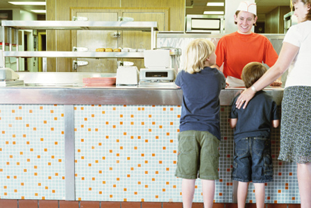 Family ordering fast food | Sheknows.com