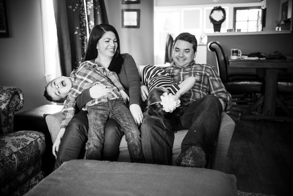 Family Photo Fail - The Thomas Family