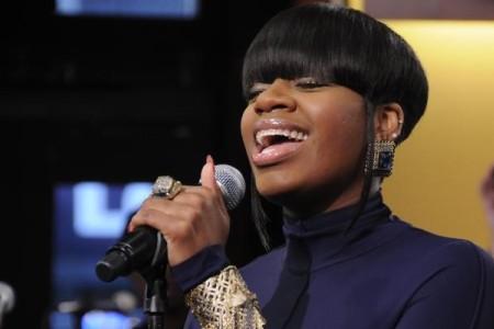 Fantasia performs on Good Morning America