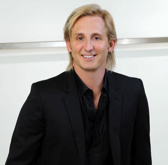 Celebrity fashion designer David Meister