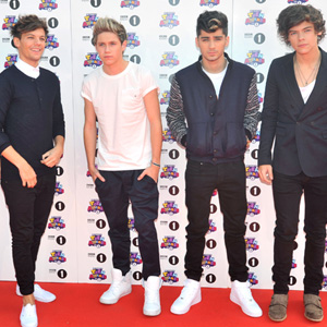Skinny jeans on One Direction