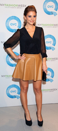 Maria Menounos at New York Fashion Week Day 1