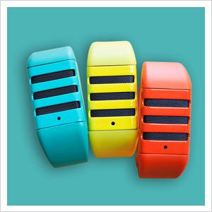 Kapture audio wristband