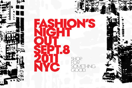 Fashion's Night Out is tonight