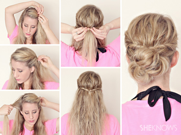 Hairstyle Tutorials For Wet Hair Page 3 Sheknows