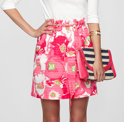 Seen here: Lilly Pulitzer Avery skirt ($118, Zappos)