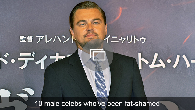 fat-shamed male celebs slideshow