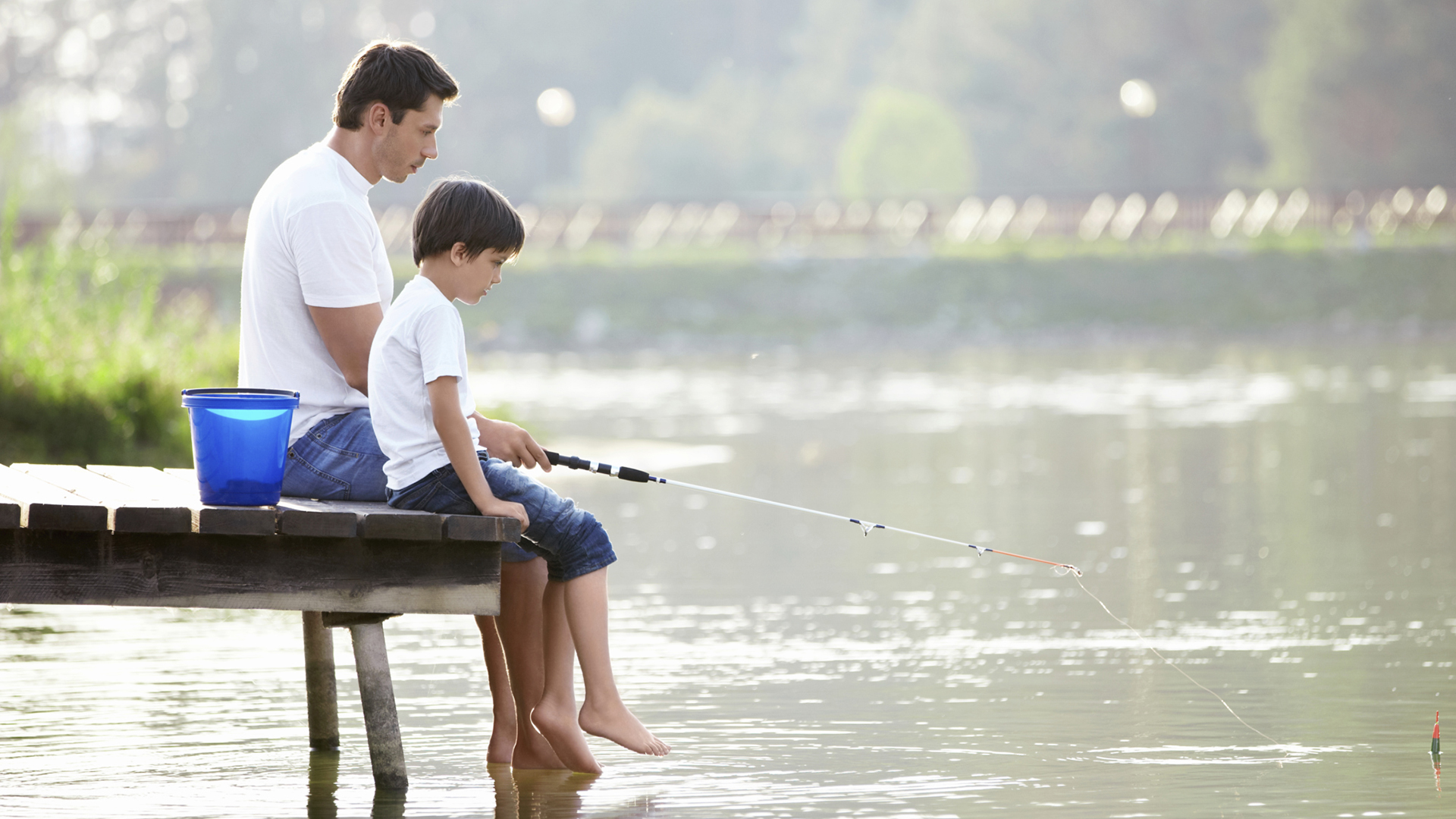 Father and son fishing | Sheknows.com