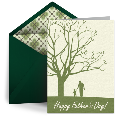 Father's Day e-cards from Punchbowl