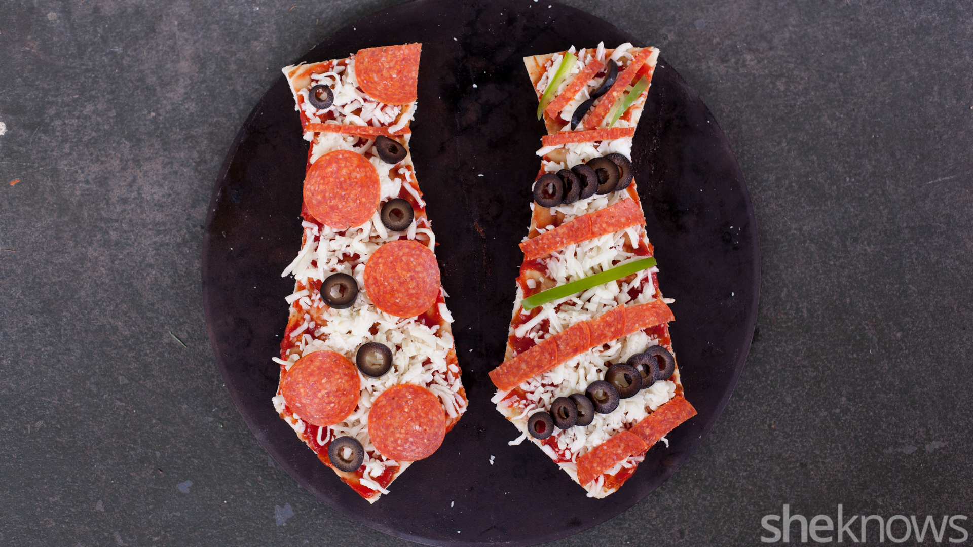 tie-shaped-pizza