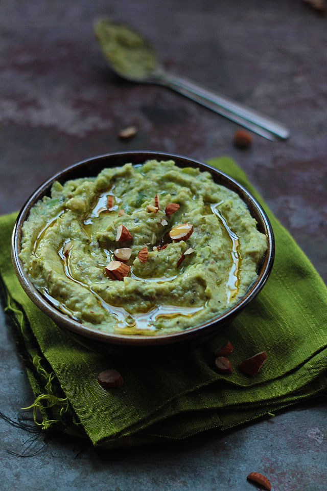 fava bean and almond spread