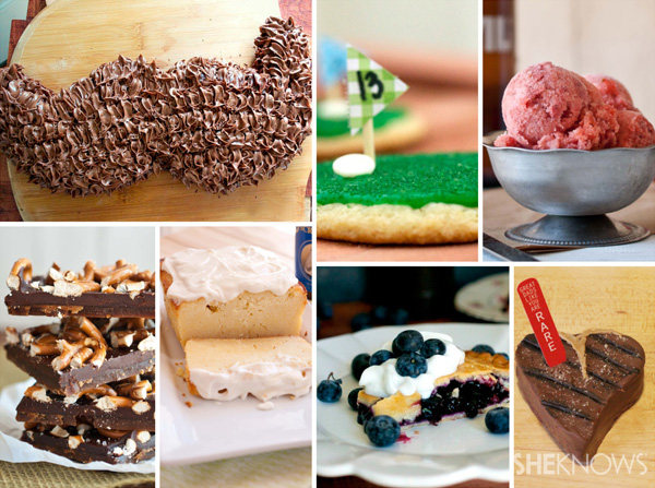 Desserts for Father's Day