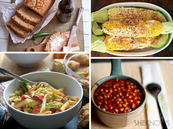 Side dishes for Father's Day