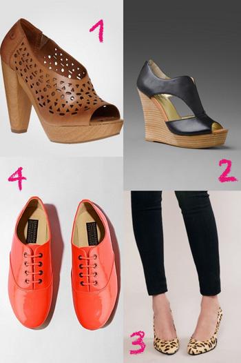 Favorite spring footwear
