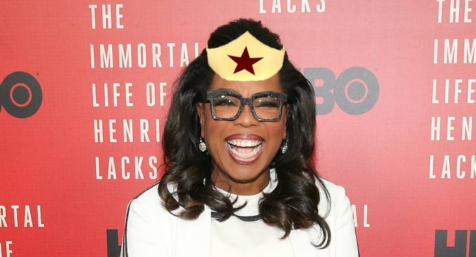 Oprah's Wonder Woman Screening Party for