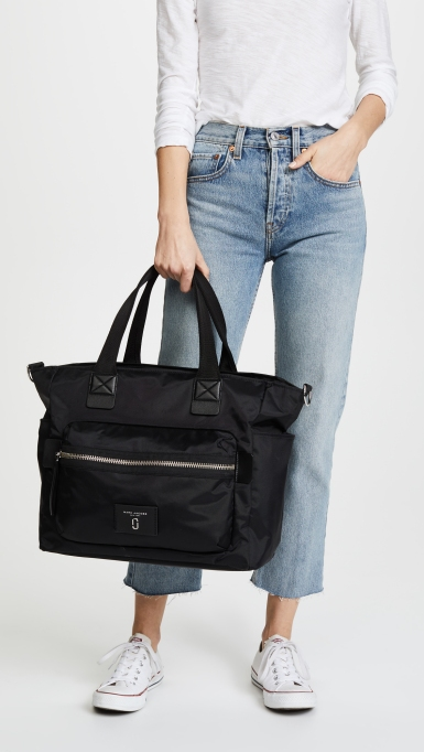 The Coolest Diaper Bags in Disguise | Marc Jacobs Nylon Biker Baby Bag