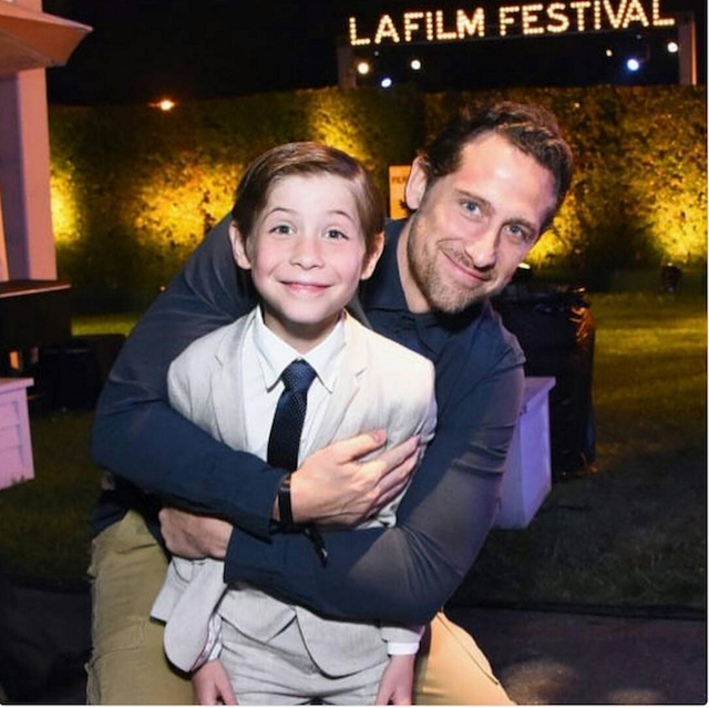 Celebrity Dads on Father's Day 2017: Jacob Tremblay
