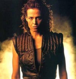 Sigourney Weaver as Ellen Ripley in