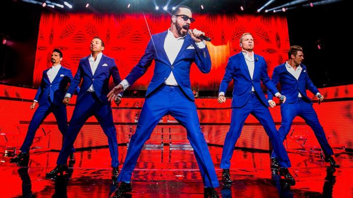 Backstreet Boys on the French horn