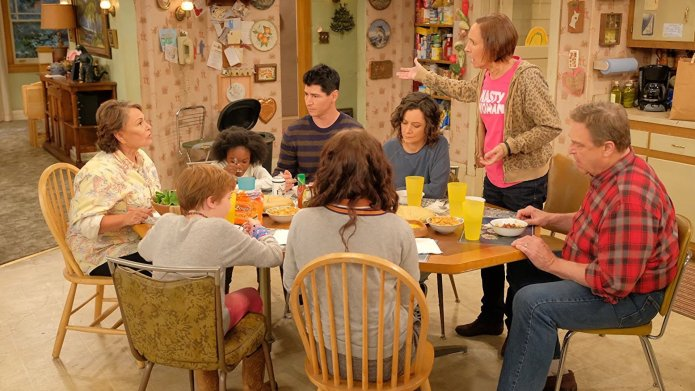 Still from ABC's 'Roseanne', 2018
