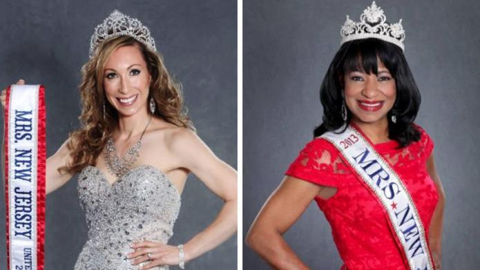 Two pageant women try to dispel
