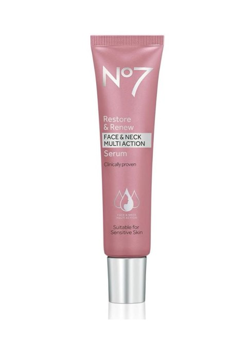 Best Collagen Infused Products | No7 Restore & Renew Face & Multi Action Serum