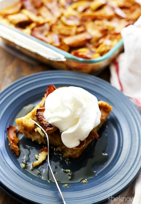 Easy Make-Ahead Breakfast Recipes: Apple French toast casserole