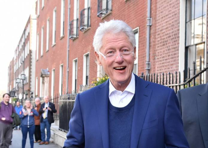 Bill Clinton's Life Is Getting the