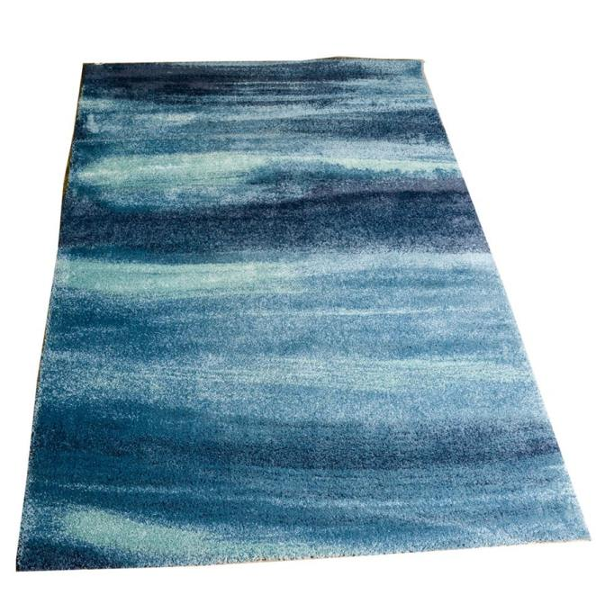 9 Affordable IKEA Rugs: Add a bright splash of color with this blue rug