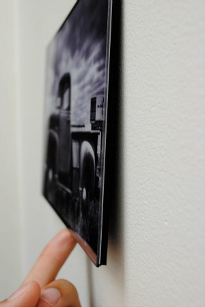 digital image printed on glass