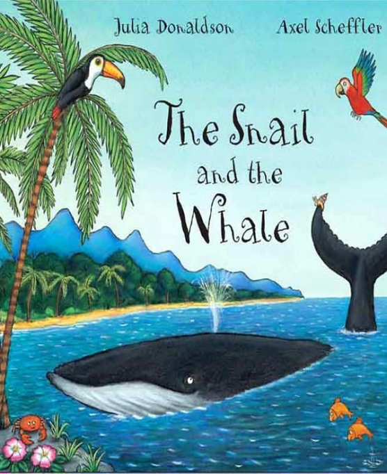 Rhyming Books For Early Readers And Young Poets: The Snail And The Whale