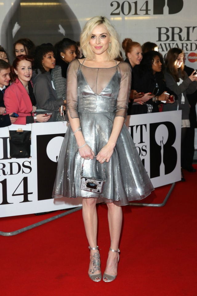 Fearne Cotton at the 2014 BRITS