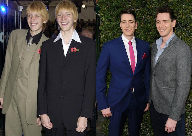 'Harry Potter' Cast: Then & Now: James & Oliver Phelps