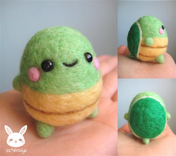 Felted Turtle by xxNostalgic